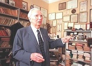 Frankl en su estudio