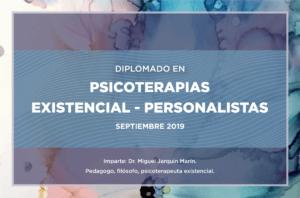 Diplomado en Psicoterapia Existencial. Septiembre 2019. Querétaro, Qro.