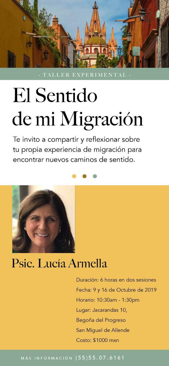 El sentio de mi migración